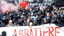 Italian police, demonstrators clash in protest against Austrian fence