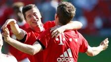 Bayern Munich secure record fourth straight Bundesliga title