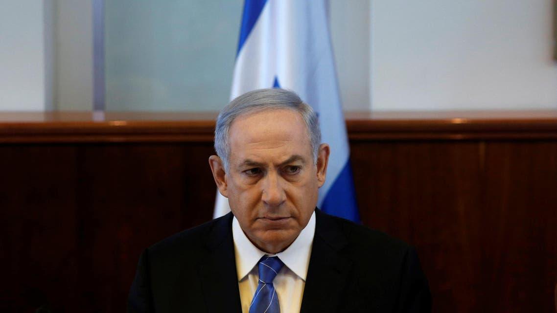 Israeli Prime Minister Benjamin Netanyahu attends the weekly cabinet meeting in Jerusalem May 8, 2016. reuters