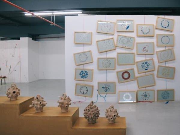 """بالصور.. معرض """"أحجام هاربة"""" للفن المعاصر في المغرب"""