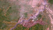 کینیڈا میں خوفناک 'وحشی آگ' کے فضائی مناظر!