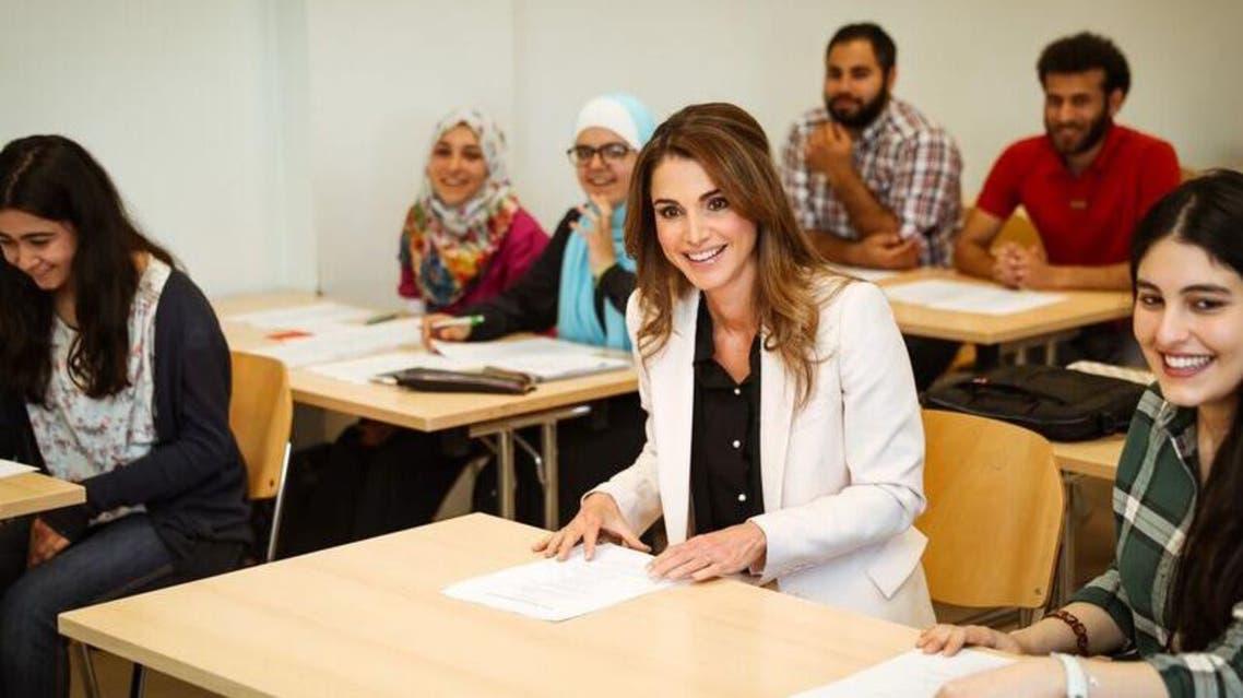 الملكة رانيا رئيسية
