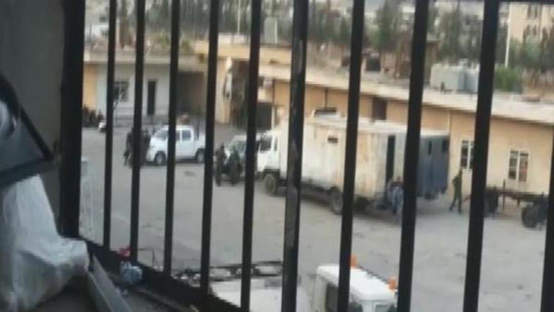 syrian jail