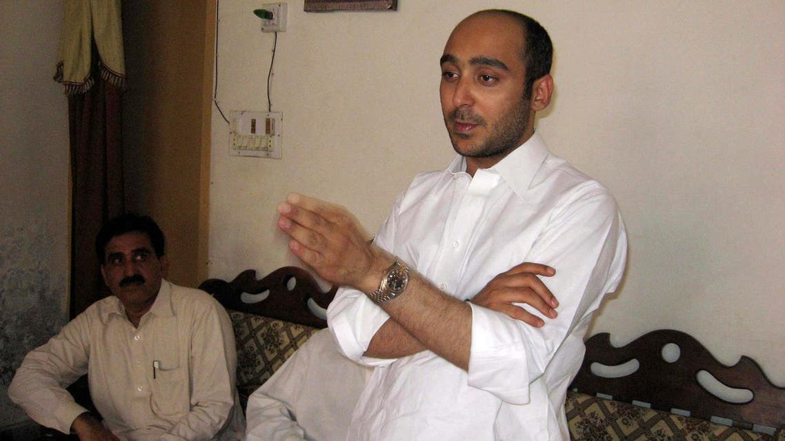 Ali Haider Gilani, son of former Pakistani Prime Minister Yusuf Raza Gilani, who is contesting in the upcoming general election, speaks during a campaign meeting at a house on the outskirts of Multan May 9, 2013, before his abduction by unidentified gunmen. REUTERS/Stringer/File Photo