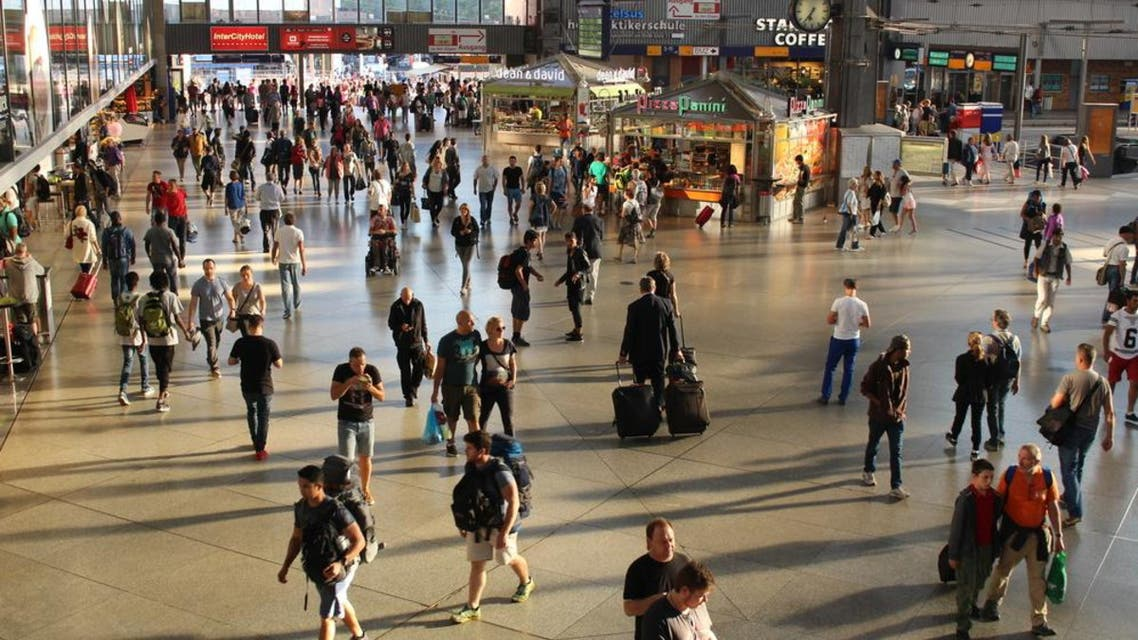 German media said police had arrested the perpetrator and that the victims were men