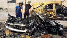 Suicide bomb kills at least 13 near Baghdad