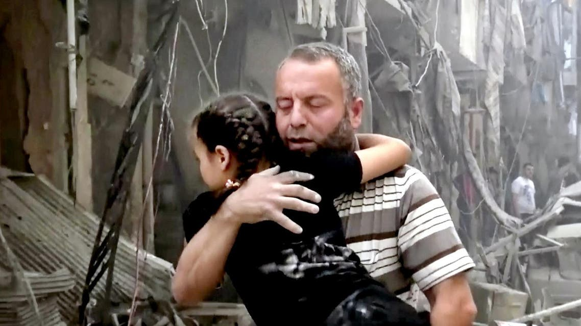 The acceleration of fighting in the Aleppo area contributed to the collapse of peace talks in Geneva last month. (File photo: AP)