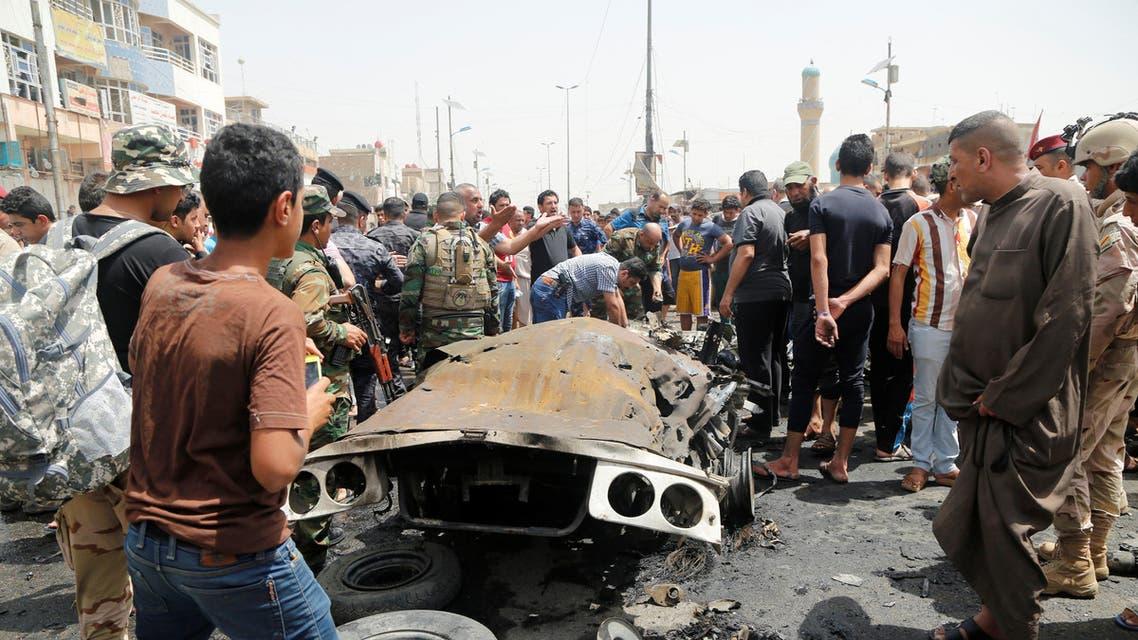 من تفجيرات بغداد