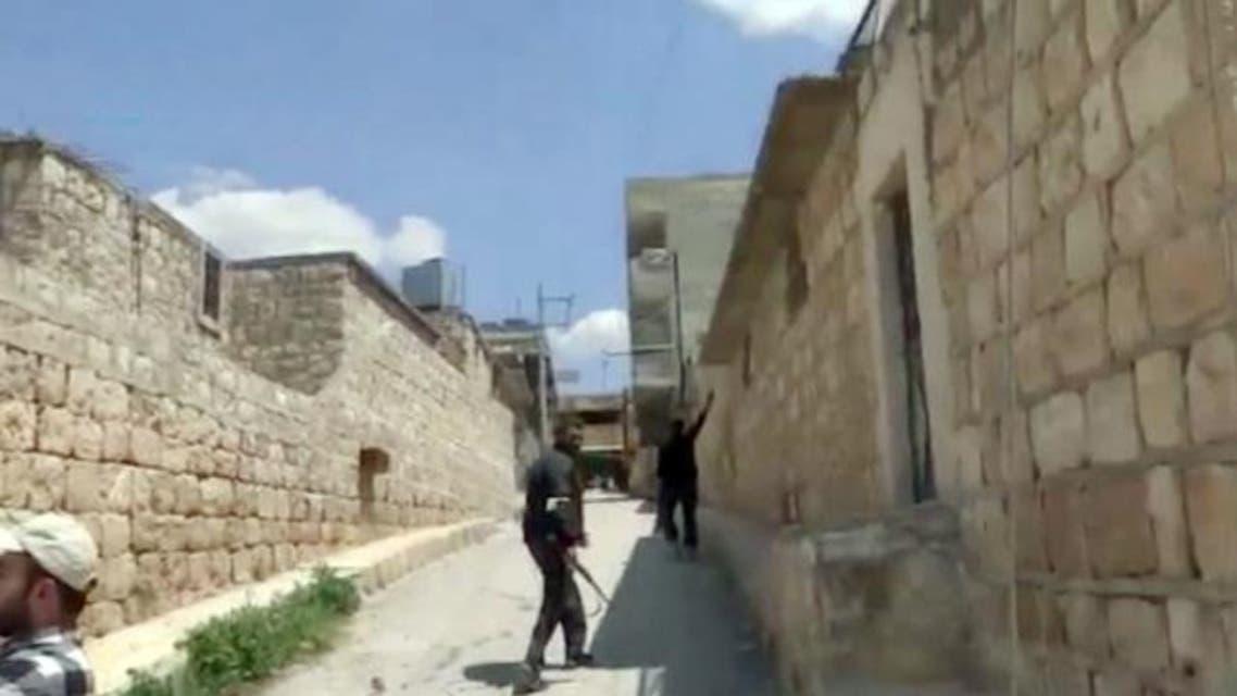مخيم حندرات في ريف حلب