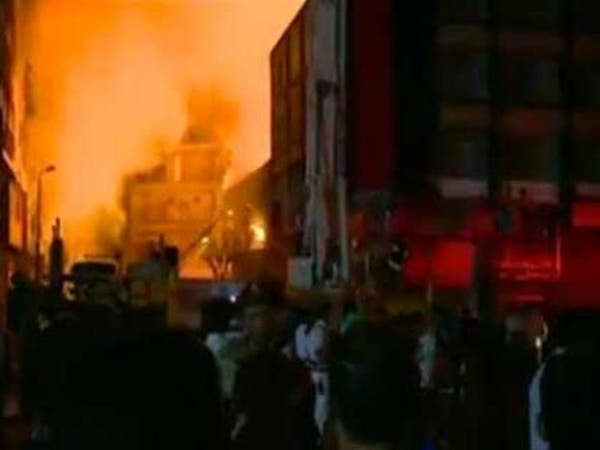 السيطرة على حريق بجامعة القاهرة