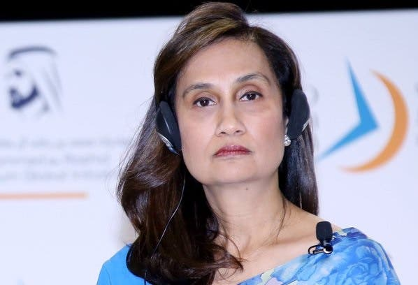 The Hindustan Times' Shobhana Bhartia at the Arab Media Forum. (AMF)