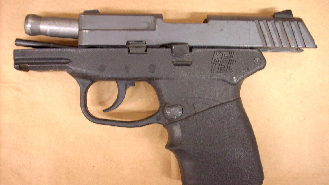 The handgun used in the shooting death of Trayvon Martin is seen this handout photo provided by the State Attorney's Office on May 17, 2012. Courtesy State Attorney's Office/Handout via REUTERS ATTENTION EDITORS - THIS IMAGE WAS PROVIDED BY A THIRD PARTY. EDITORIAL USE ONLY