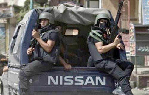 من الأمن المصري