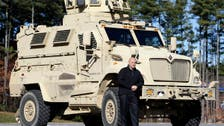 Egypt receives first batch of mine-resistant armored vehicles from US