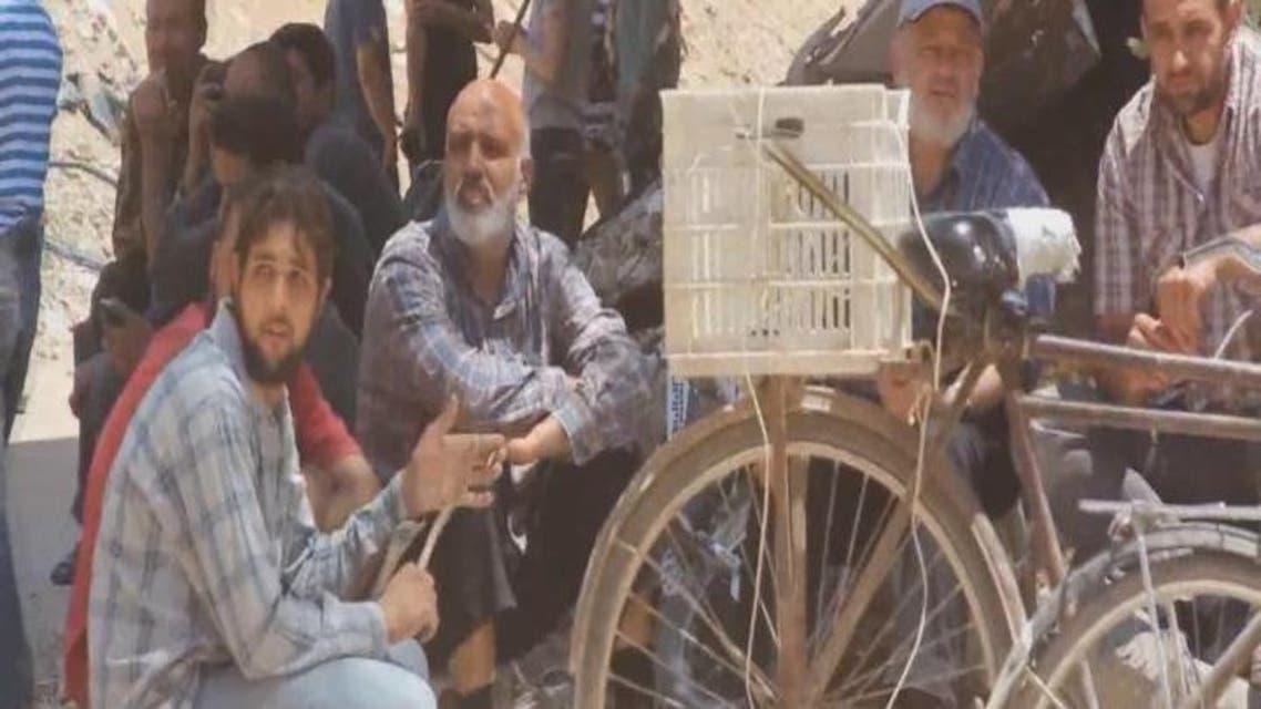 THUMBNAIL_ نظام الأسد يمنع قافلة مساعدات أممية من دخول داريا