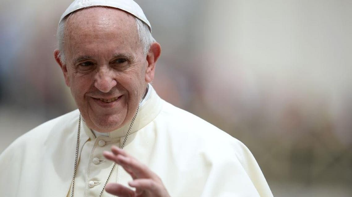 Pope Francis vows to set up a commission to study the possibility of women serving as deacons (AFP)