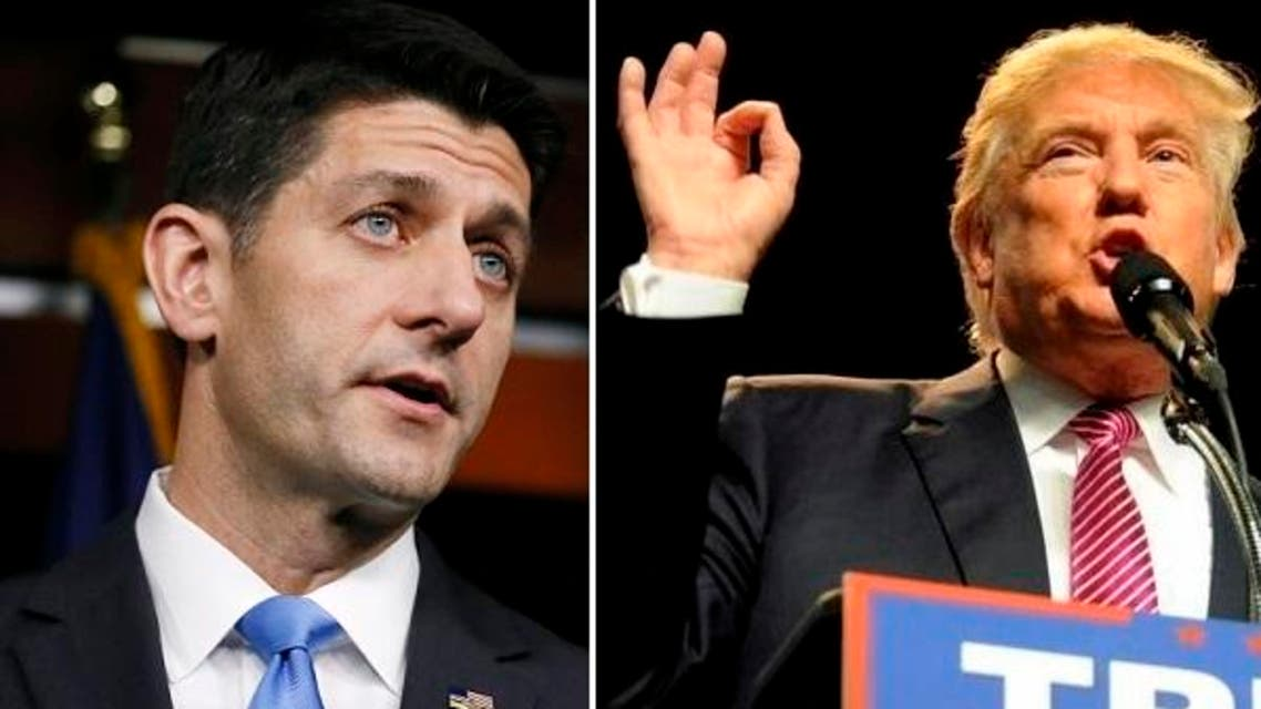 Ryan said at the time he was not yet ready to back Trump, who had succeeded in insulting women, Latinos, disabled people and many conservatives. (Reuters)