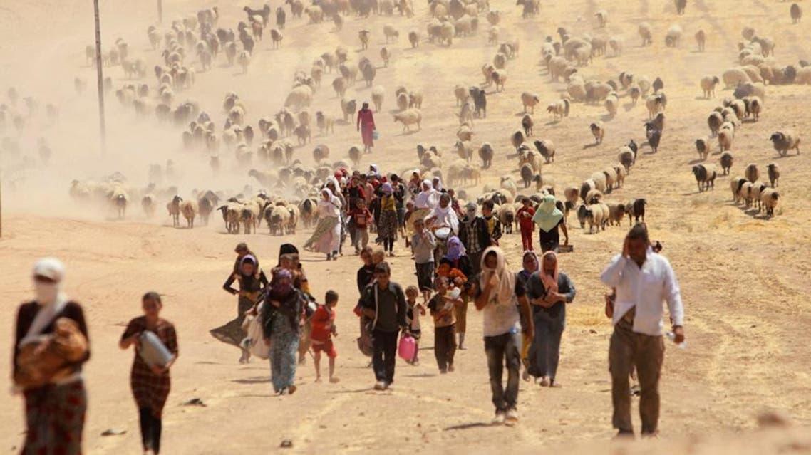 Yazidi campaigners Reuters