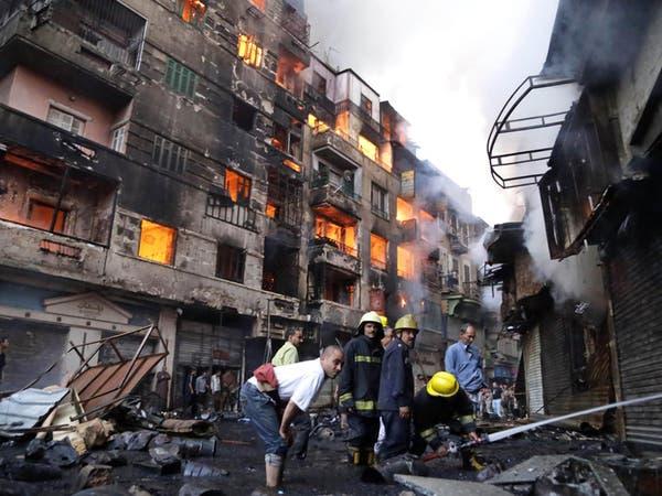 سلسلة من الحرائق غير المسبوقة تثير القلق بالشارع المصري