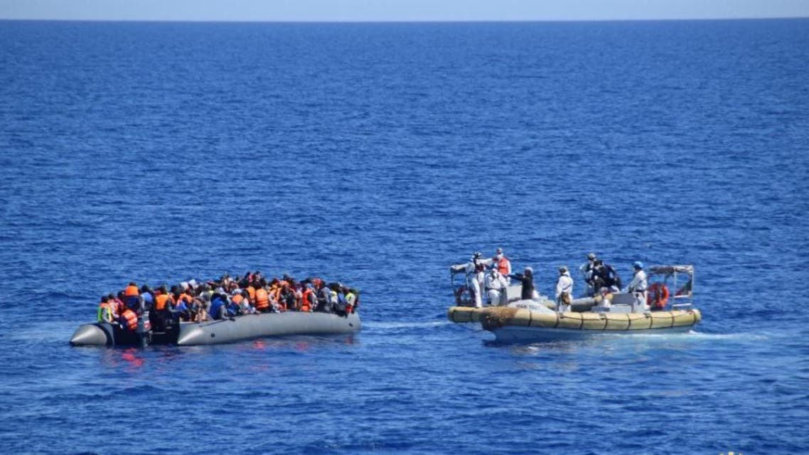 The boats used by Egyptian smugglers are usually in a better condition than those employed by their Libyan counterparts, who rely almost exclusively on poor-quality inflatable dinghies (File Photo: AFP)