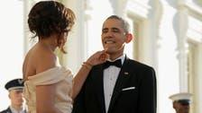 Michelle Obama wears Indian designer Naeem Khan to state dinner