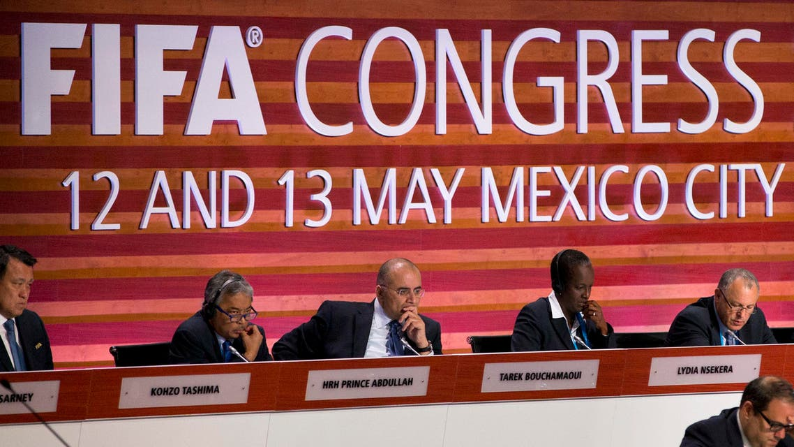 The vote at the FIFA Congress in Mexico City increased the global governing body's membership to 211. (AP)