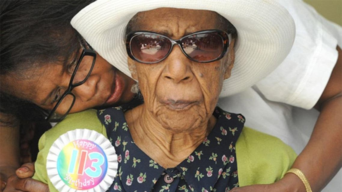 Jones was entered into the Guinness Book of Records as the world's oldest person in July 2015. AP