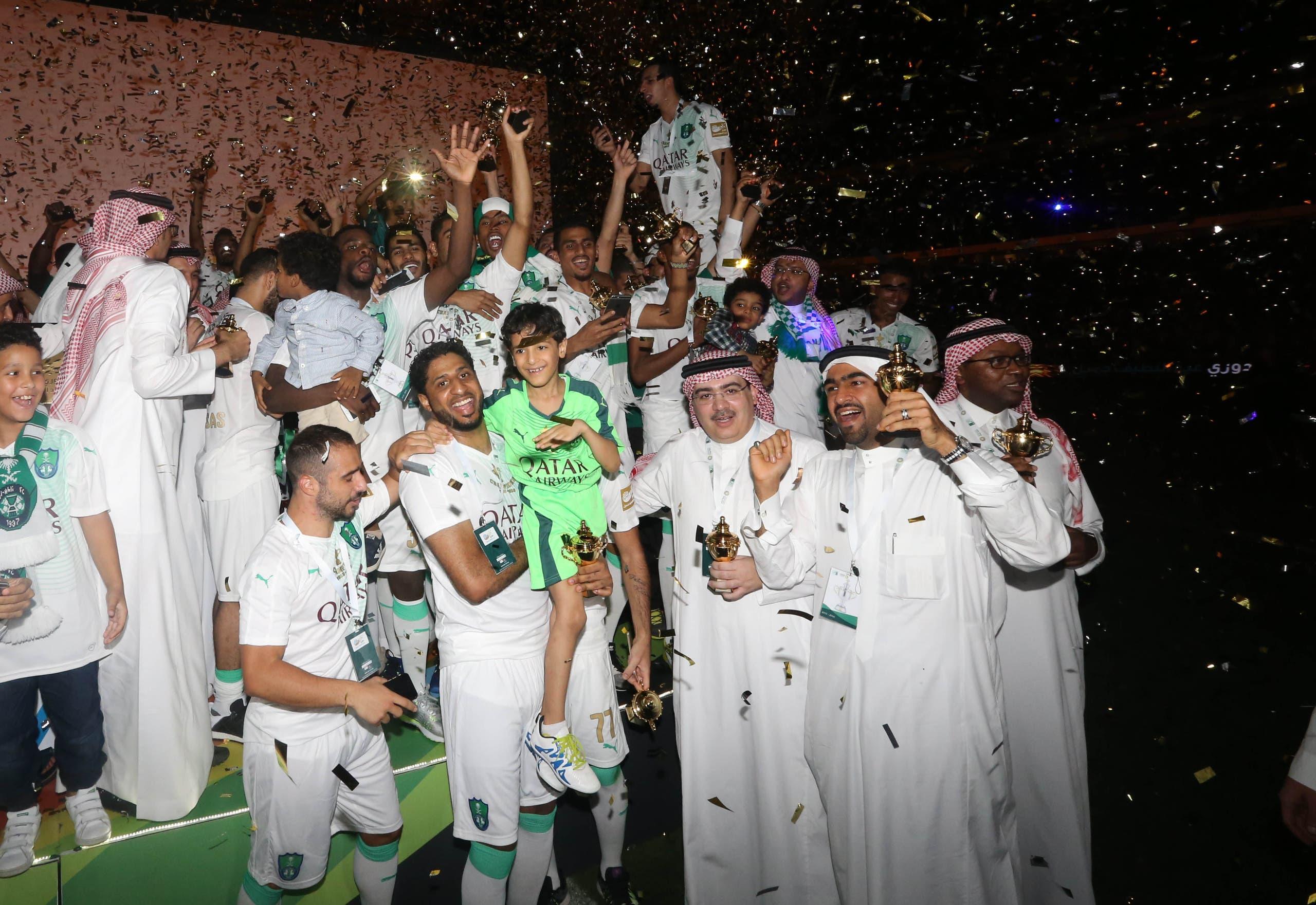 الدوري السعودي الأهلي
