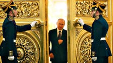 Oops! Faulty door handle sabotages Putin's military inspection