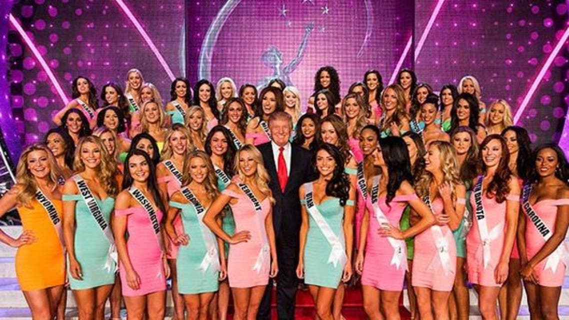 """""""Trump would sometimes interrupt meetings with comments about women's figures."""" (File photo courtesy: Miss Universe Organization)"""
