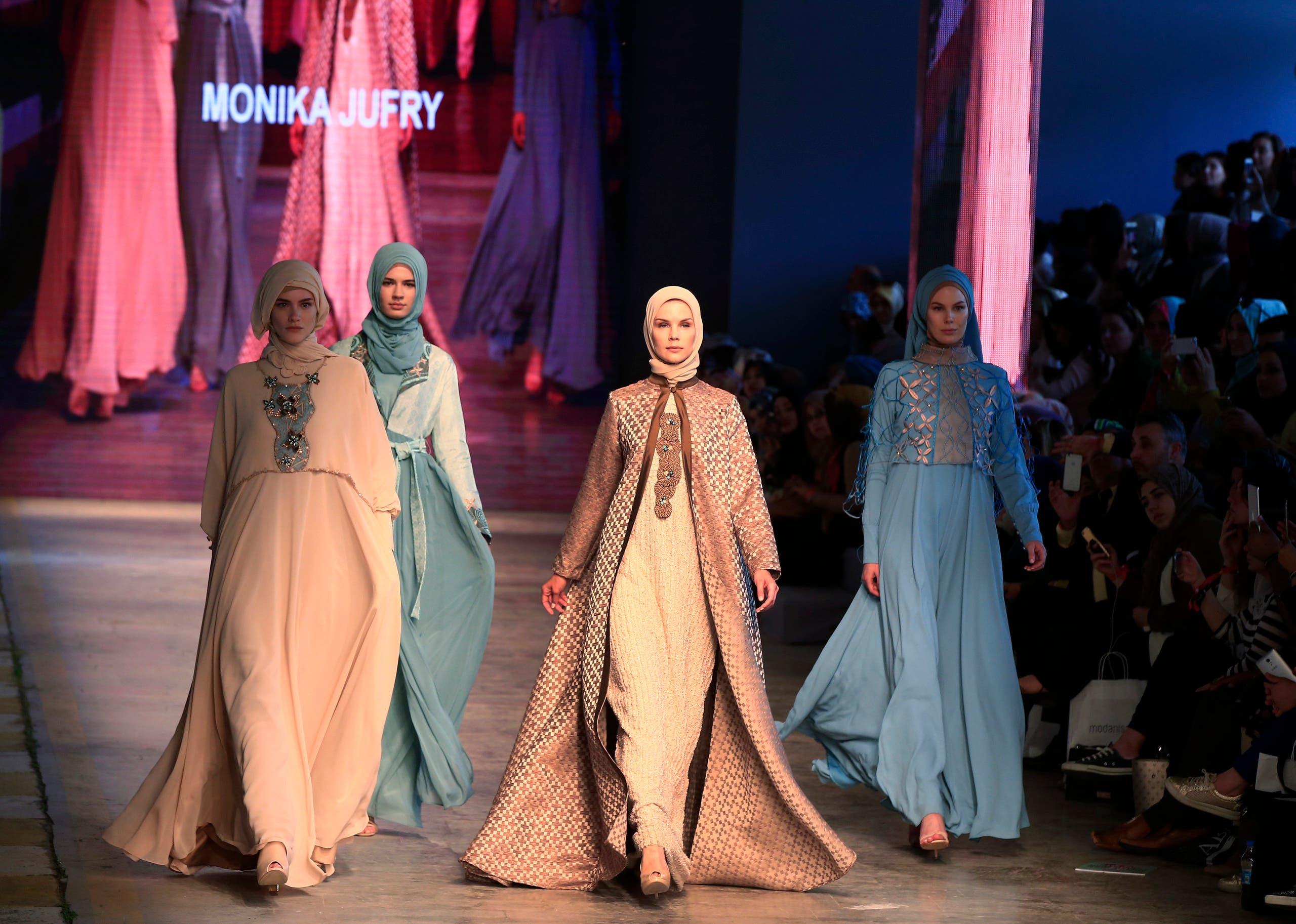 Modest Fashion Show In Turkey