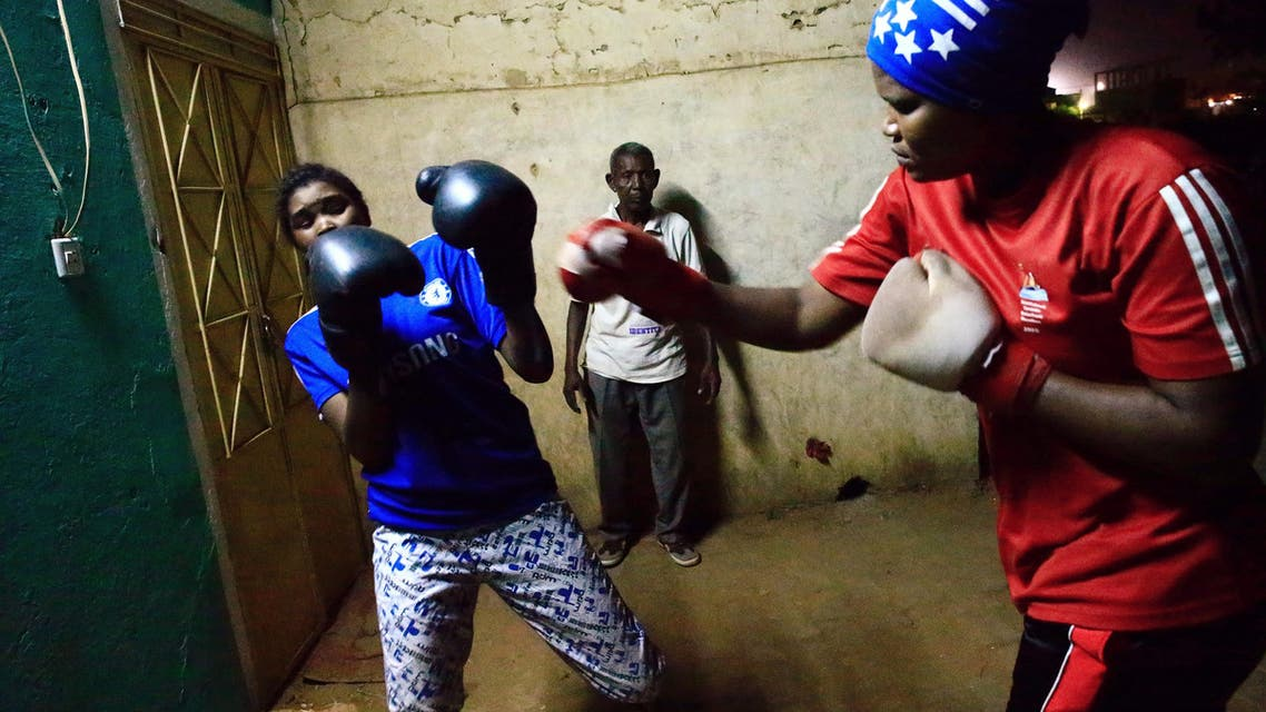 Women punch through Sudan's taboos