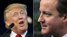 Trump expects bad ties with British PM after 'stupid' comment