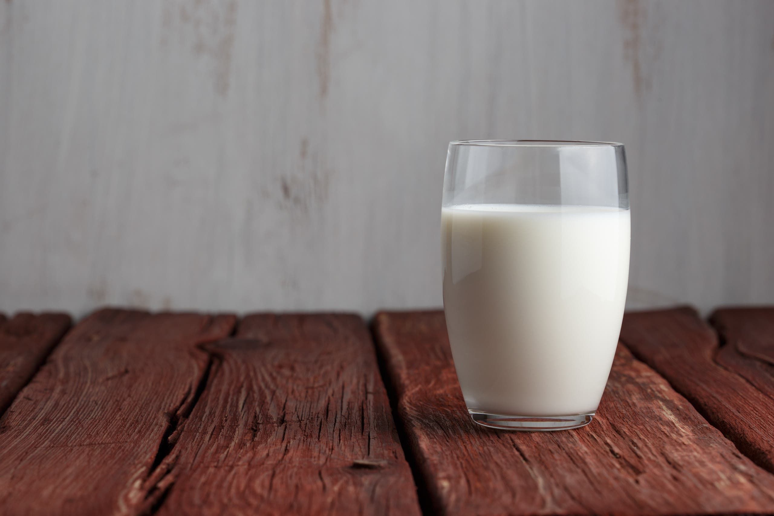 milk or soy milk shutterstock
