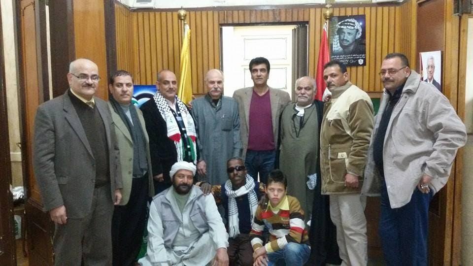 صورة ياسر عرفات تطل من جدران منزل بالقرية