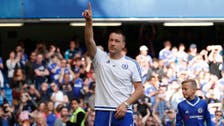 Tearful Terry tells Chelsea fans: 'I want to stay'