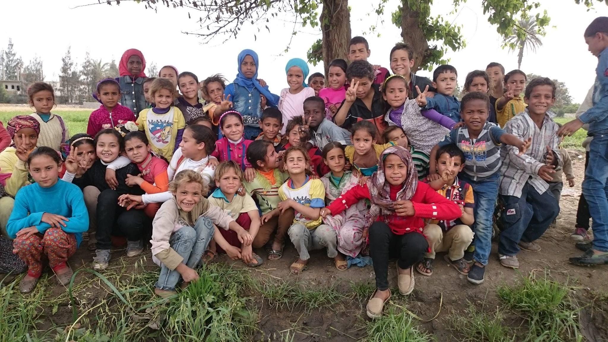 أطفال القرية