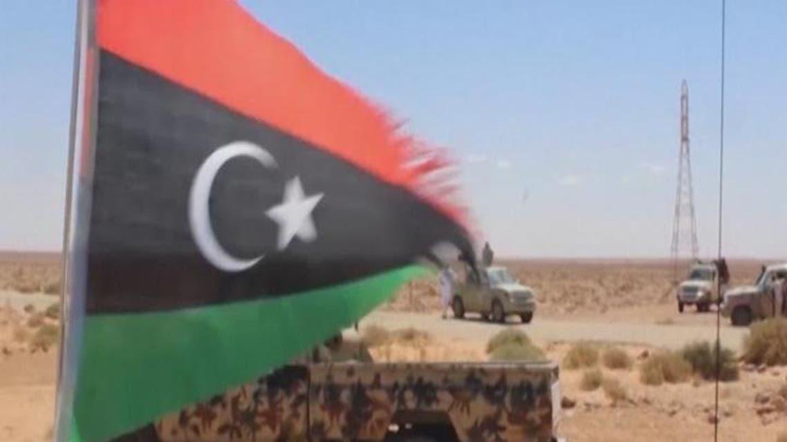 """THUMBNAIL_ ليبيا.. """"حكومة الوفاق"""" تستهدف مواقع داعش"""