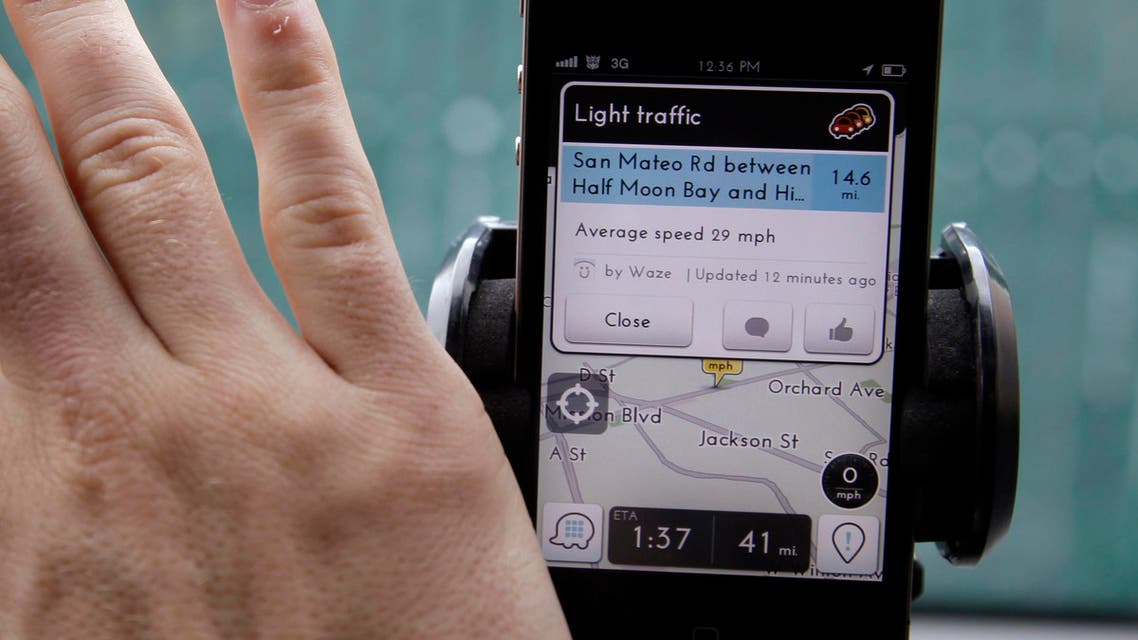 Waze Carpool would serve as an alternative to ride-sharing services such as Uber or Lyft. (File photo: AP)