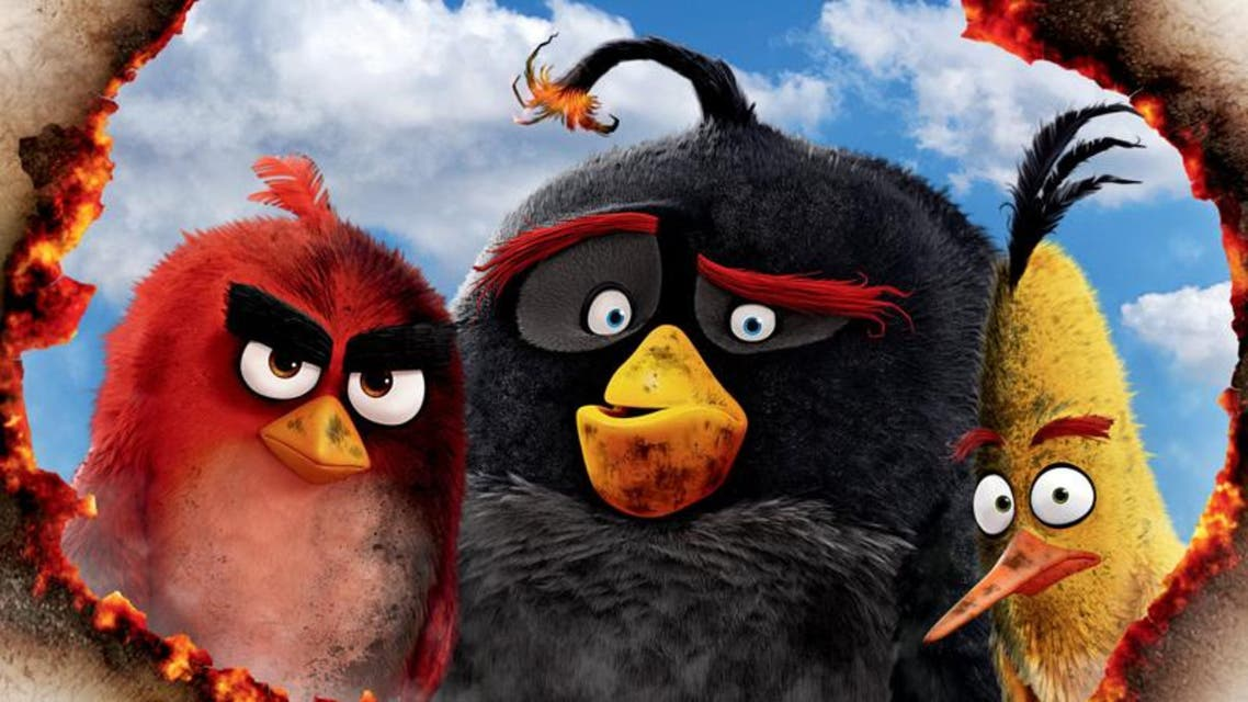 The story is centered on Red (Jason Sudeikis), a loner bird who is consistently aggravated by the minor inconveniences and annoyances of life on Bird Island. (Sony Pictures)