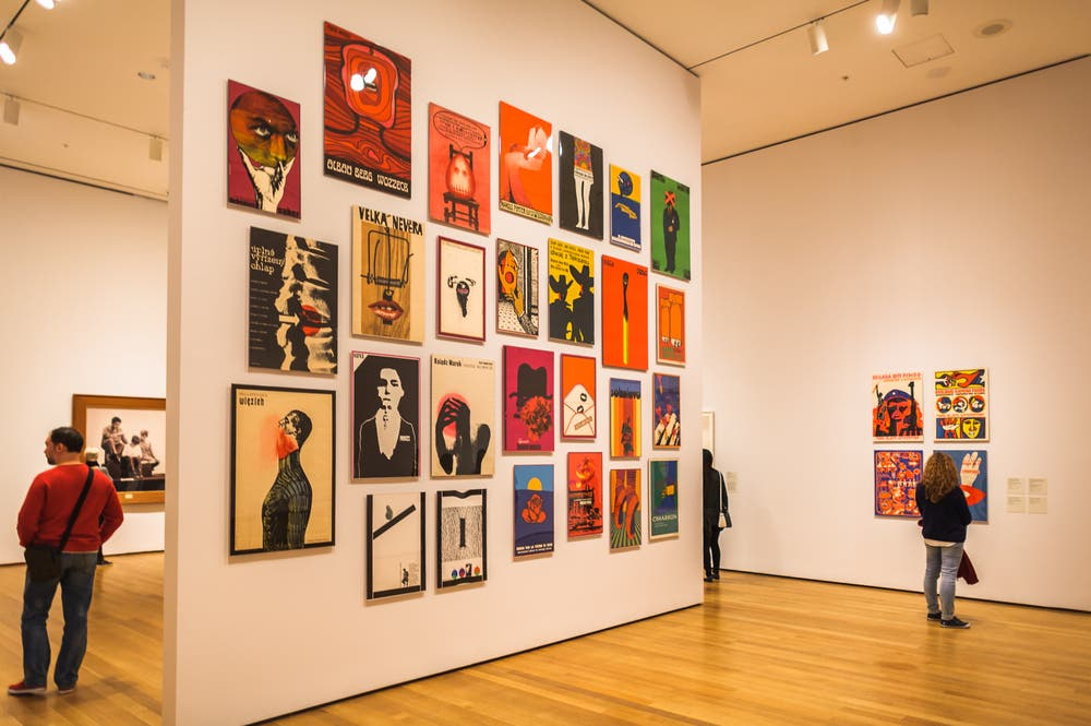 MoMA has over 200,000 works of modern art including Monet's Water Lilies and Van Gogh's Starry Night. (Shutterstock)