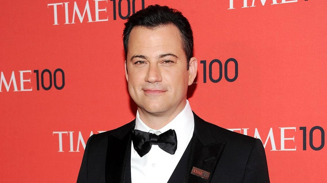 Kimmel's show is now in its 14th season, which makes him the longest-running host among the competitors. (AP)
