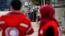Red Cross delivers aid to besieged Damascus suburb after 4 years