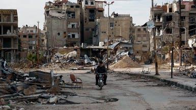 الأسد يمهل مقاتلي المعارضة ساعات للانسحاب من حرستا
