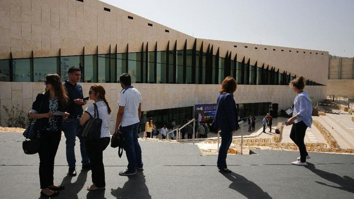Palestinian leaders have trumpeted the opening of the museum in the occupied West Bank for months, hailing it as a home for a national memory which Palestinians often accuse Israel of trying to eradicate (AFP)
