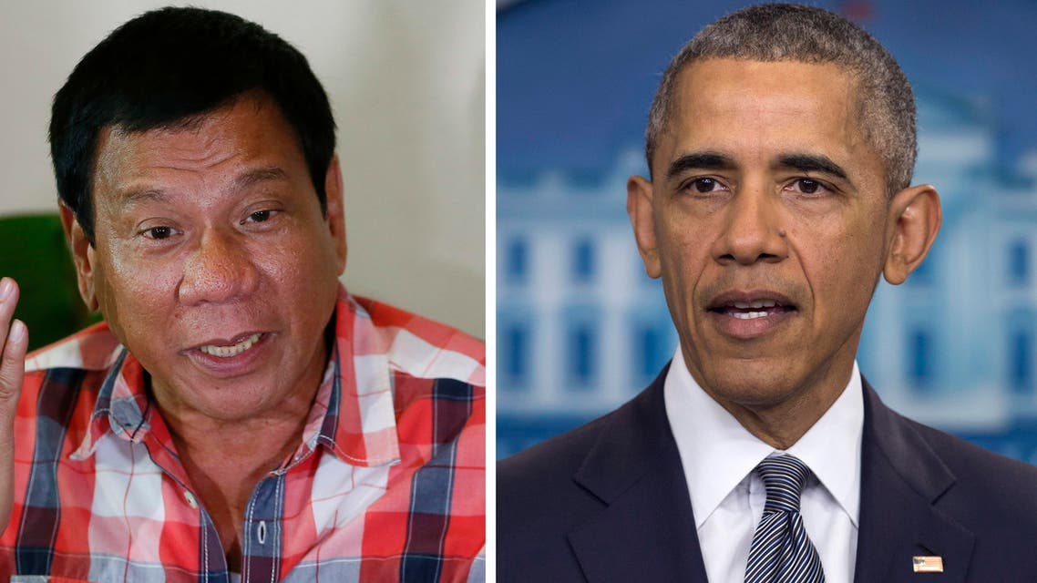 """Obama noted high voter turnout in the election was a sign of the Philippines' """"vibrant democracy."""" (File photos: AP)"""