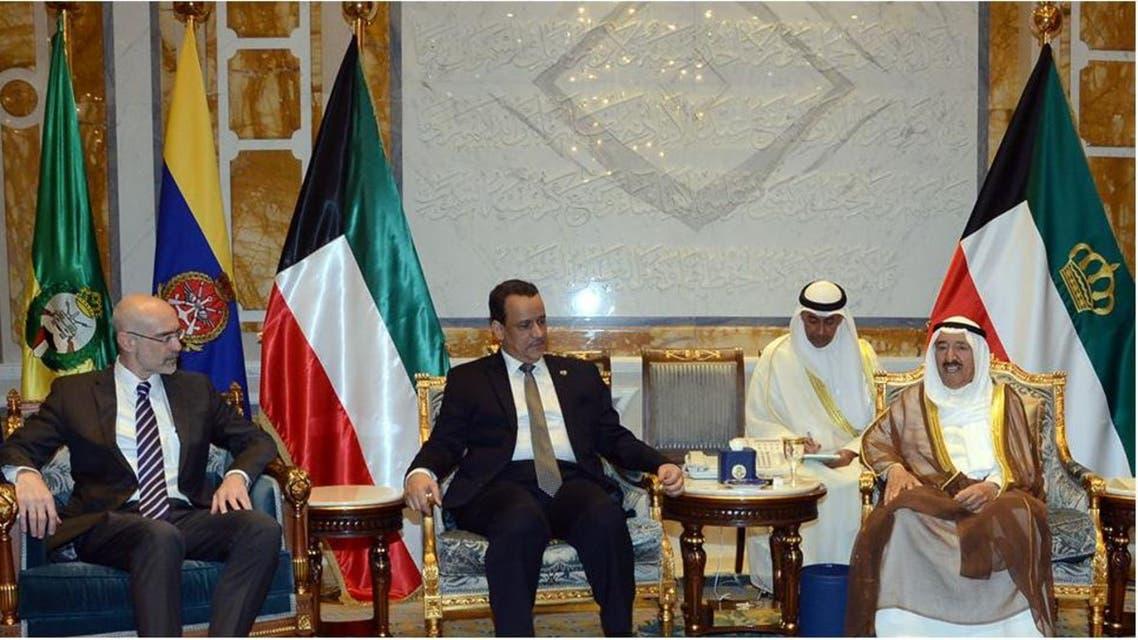 أمير الكويت و المبعوث الأممي
