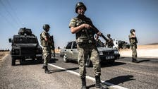 Turkish military says helicopter likely shot down