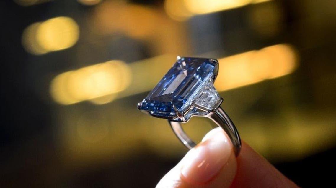 Oppenheimer blue diamond AFP