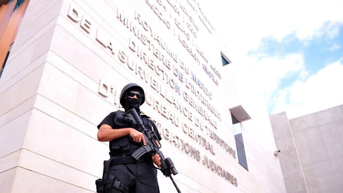 عنصر من مكتب محاربة الارهاب في المغرب